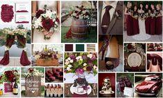 Pour les amateurs de vins, la couleur bordeaux sera un excellent point de départ pour la décoration de votre mariage, elle évoque le rouge de l'amour et l'élégance. Wedding Event Planner, Table Decorations, Elegant, Inspiration, Design, Beautiful Moments, Weddings, Burgundy Color, Photo Galleries