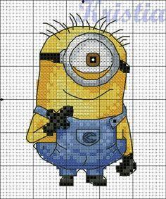 cross stitch pattern minions - Google Search