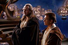 """I'm just an empty void waiting to be filled"". Star Wars Film, Star Wars Jedi, Star Wars Art, Liam Neeson, Young Anakin Skywalker, Cinema, Saga, Star Wars Images, The Phantom Menace"