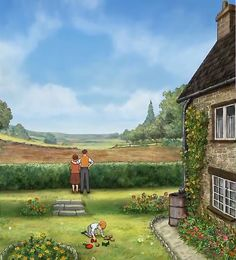 Ethel And Ernest. Movie Sets And Backgrounds.
