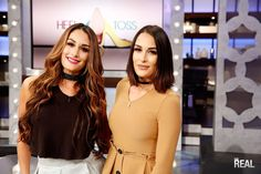 The Bella Twins on The Real tomorrow!