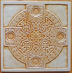 Website for this image  celtic cross tile. NEW 8 x 8 Relief carved Celtic Cross tile $42.95  earthsongtiles.com  Full-size image  600 × 606 (Same size), 115KB  Search by image  Type:	JPG  Images may be subject to copyright.