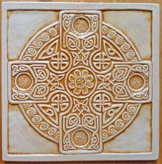 celtic cross tile