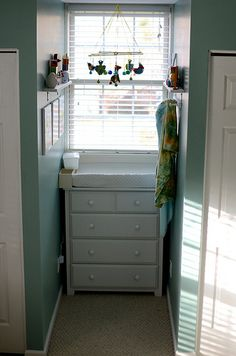 Perfect for the baby room! We have a little cove in there that we have no idea what to do with. LOVE!!
