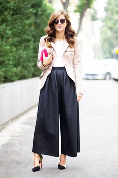11 Work Outfits That Are Anything But Boring. Moda CoreanaPantalon Ancho ... 2685c655764d