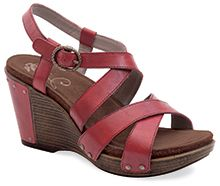 Dansko Frida Cranberry Antique Full Grain