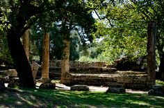 Ancient Olympics site in Greece