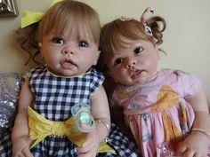 REBORN TODDLER BABY GIRL TIPPI BY LINDA MURRAY NOW CORALIE HUMAN HAIR!  #LINDAMURRAY