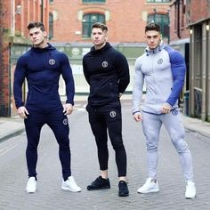 2018 New Sport Suit Men Bodybuilding Jacket Pants Sports Suits Basketball Tights Clothes Gym Fitness Running Set Men Tracksuits - Jungs - Track Suit Men, Track Pants Mens, Men Pants, Mens Trousers Casual, Men Casual, Mens Compression Pants, Estilo Fitness, Sport Outfit, Sport Wear