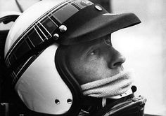 Jacky Stewart 1965. How many lives did this man save by standing up against track owners, race promoters, organizing bodies and OTHER DRIVERS ?! Racing is better, safer and more profitable. A Real Champion.