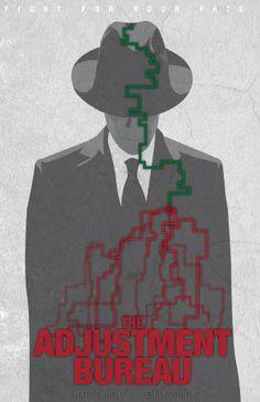 The Adjustment Bureau (2011) ~ Minimal Movie Poster by Tom Kyle