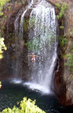 Florence Falls Jump: Florence Falls is one of the best swimming spots in Litchfield - it's hard to imagine a prettier, more relaxing place to spend an afternoon.