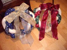 Coronas de Navidad - Las Labores de Nivaira