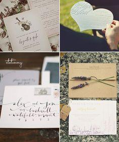 Wedding Stationery | Lovestru.ck by Lovestruck Events, via Flickr