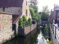 A romantic backwater near Begijnhof.