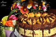 Tort Profiterol | Retete culinare cu Laura Sava - Cele mai bune retete pentru intreaga familie Sicilian, Cake Recipes, Mai, Desserts, Food, Cakes, Tarts, Sweets, Dump Cake Recipes