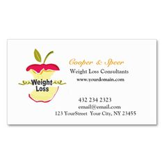 Unique Original Dietitian Nutritionist Business Business Card Template. Make your own business card with this great design. All you need is to add your info to this template. Click the image to try it out!