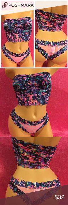 Victoria secret panty and bra set VS Pink bra and panty set size XS PINK Victoria's Secret Intimates & Sleepwear Bras