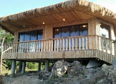 Modern Bahay Kubo Design In Philippines Brook House, Hut House, Farm House, Bahay Kubo Design, Bamboo House Design, Bali, Philippine Houses, Quonset Hut, House Design Pictures