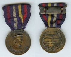 The OMSA Medal Database - Perfect Attendance Medal (Type II), King Medal - OMSA National Guard, Attendance, King, Type