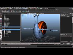 04 - Character node/rig structure (Cartoon character rigging series)