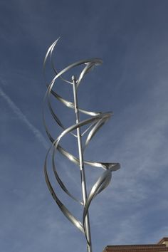 OSCILLATOR  --  Wind and Water Sculpture — Mark White Fine Art