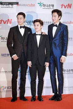 D.O <3 - 141115 2014 Daejeon Drama Festival APAN Star Award Exo Do, Suho Exo, Asian Actors, Korean Actors, Jo In Sung, Daejeon, Star Awards, Do Kyung Soo, Running Man