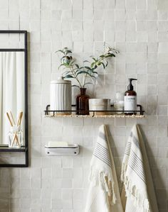 Im a sucker for a good feature tile design. Todays interior inspiration comes from these cute mini square feature titles in a bathroom inspired by my absolute favourite interior designer They're simple yet eye catchy. Bathroom Inspiration, Interior Inspiration, Bathroom Inspo, Bathroom Ideas, Joanna Gaines Design, Zen Interiors, Feature Tiles, Interior Decorating, Interior Design