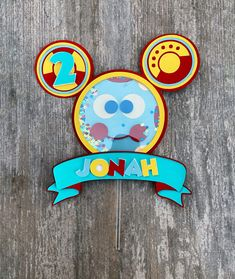Toodles Mickey Mouse, Mickey Mouse Cake Topper, Mickey Mouse Theme Party, Mickey Mouse Birthday Decorations, Mickey Mouse Clubhouse Birthday Party, 3rd Birthday Parties, 4th Birthday, Birthday Cakes, Birthday Ideas