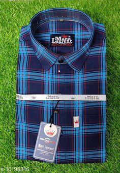 Shirts Trendy cotton check, Original Brand, Single Pocket Shirt for Men Fabric: Cotton Sleeve Length: Long Sleeves Pattern: Checked Multipack: 1 Sizes: XL (Chest Size: 46 in, Length Size: 31 in)  L (Chest Size: 44 in, Length Size: 30 in)  M (Chest Size: 41 in, Length Size: 29 in)  XXL (Chest Size: 49 in, Length Size: 32 in) Country of Origin: India Sizes Available: M, L, XL, XXL   Catalog Rating: ★4 (444)  Catalog Name: Classy Fashionable Men Shirts CatalogID_1844130 C70-SC1206 Code: 563-10195316-9911