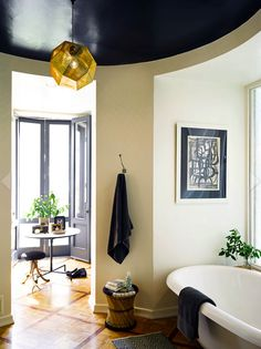 The Hollywood Hills Home of Nate Berkus and Jeremiah Brent via La Dolce Vita - pinned for color combination