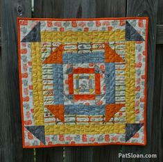 Want it, Need it, Quilt!: Guest Pat Sloan and Tips/Hints 3 Nested Churn Dash Cute Quilts, Small Quilts, Mini Quilts, Baby Quilts, Quilt Block Patterns, Quilt Blocks, Churn Dash Quilt, I Spy Quilt, Small Sewing Projects