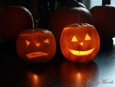 DIY : EASY, Fun Jack O' Lanterns Made From ORANGES!