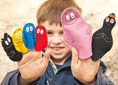 Put on a Barbapapa puppet show Puppet Show, Felt Books, Mini Craft, Birthday Diy, Felt Diy, Creative Kids, Handmade Toys, Toddler Activities, Puppets