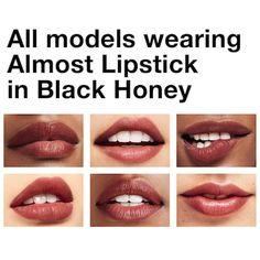 Clinique Almost Lipstick Black Honey Sephora - Pictures of Wedding Dress and Lipstick Lipstick Dupes, Makeup Dupes, Lipstick Shades, Lipstick Colors, Lip Colors, Lipsticks, Clinique Makeup, Lipstick Swatches, Liquid Lipstick