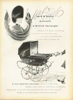 Vintage Furniture Ads of the (Page Furniture Ads, Vintage Furniture, Baby Carriage, Lord & Taylor, Childhood Memories, 1950s, Electric Cars, Image Search, Wheels