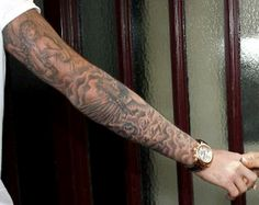 Masculine Arm Tattoos for Men: Cool Arm Tattoo For Men ~ tattooeve.com Tattoo Design Inspiration