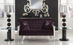 Swarovski Crystal Furniture- Lounge in luxury