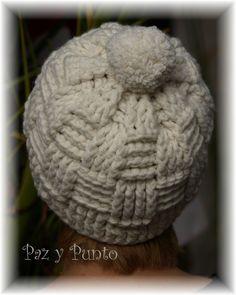 Gorro lana a ganchillo de Pazypunto en Etsy