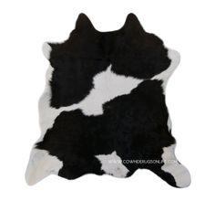 Black White Calfskin Rug Rugs Onlinecowhide