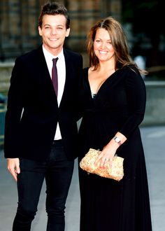 Louis and his mom 2015