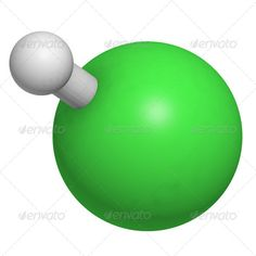Hydrogen chloride (HCl) molecule, chemical structure. Present in ...  acid, aqueous, atoms, chemistry, chloride, chlorine, concentrated, fuming, gas, gastric, hydrochloric, hydrogen, inorganic, juice, molecules, muriatic, pickling, salt, spirits, steel, stomach, structure, titration, water