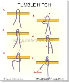 How to tie the Tumble Hitch