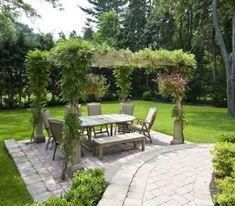 Beautiful Garden Patio Pergola