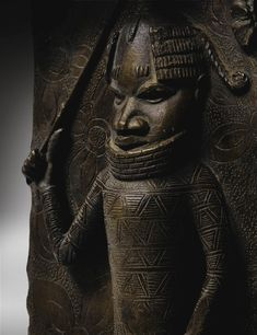 Edo Court / Palace Plaque, Benin, Nigeria African Artwork, Art Premier, Bronze, African Masks, West Africa, Plaque, Black History, Modern Art, Holy Land