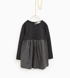 Contrast dress-DRESSES AND JUMPSUITS-Girl-Kids | 4-14 years-KIDS | ZARA United States