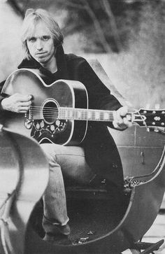 Tom Petty. Cool shot with guitar - Love me some Petty :-)