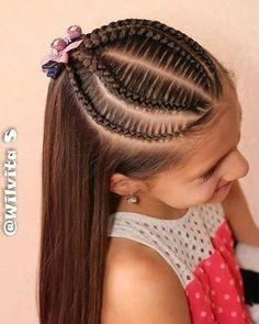 La imagen puede contener: una o varias personas y primer playukhgjjll claro el panorama no yijgvhjnnmmm nhhjjjjjjjjjkkkbxnxmfkdmxjdyikgtyytgghhjjjbbjjjjjjjjjjjno Black Hair Updo Hairstyles, Braided Ponytail Hairstyles, Little Girl Hairstyles, Cute Hairstyles, School Hairstyles, Everyday Hairstyles, Wedding Hairstyles, Medium Hair Styles, Curly Hair Styles