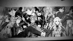 anime, fan-art, manga, FLCL, Fullmetal Alchemist, Death Note, Cowboy Bebop, Spirited Away, Melancholy of Haruhi Suzumiya, Princess Mononoke, Elfen Lied, Neon Genesis Evangelion, Code Geass: Lelouch of the Rebellion, Bleach, FLCL, Code Geass: Lelouch of the Rebellion R2, Naruto, Samurai Champloo, Trigun, Gurren Lagann, Rurouni Kenshin: Trust & Betrayal, Full Metal Panic! Howl's Moving Castle, Ouran High School Host Club, Clannad, Fruits Basket, Chobits, Fullmetal Alchemist, anime, manga