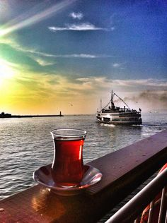 Kadikoy, Istanbul, Turkey — by Ellowyn Places Around The World, Travel Around The World, Around The Worlds, Europe Travel Tips, Places To Travel, Turkish Tea, Turkish Style, Republic Of Turkey, Turkey Travel